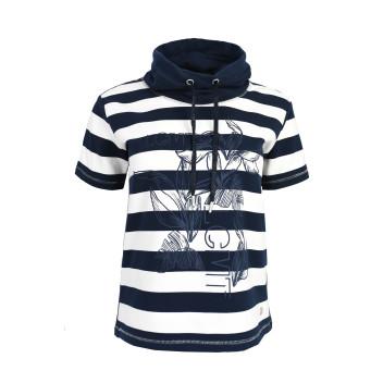 Пуловер короткий рукав - 1049151