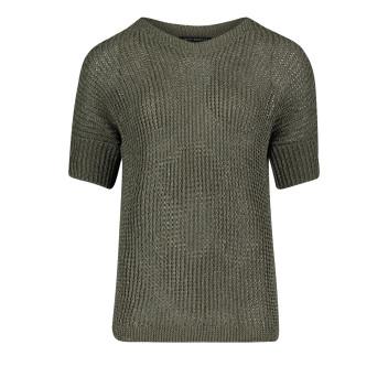 Пуловер короткий рукав