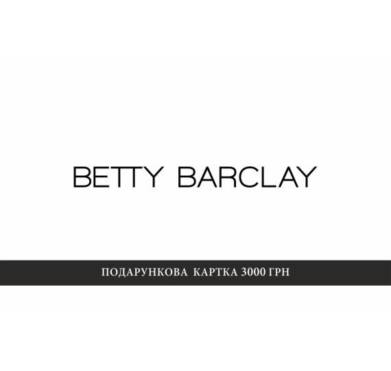 Сертификат Betty Barclay 3000  9000002 - 9000002 фото 1