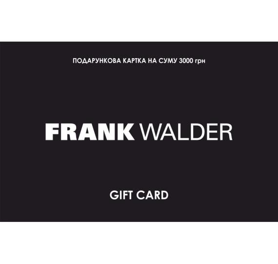 Сертификат Frank Walder 3000  9000004 - 9000004 фото 1